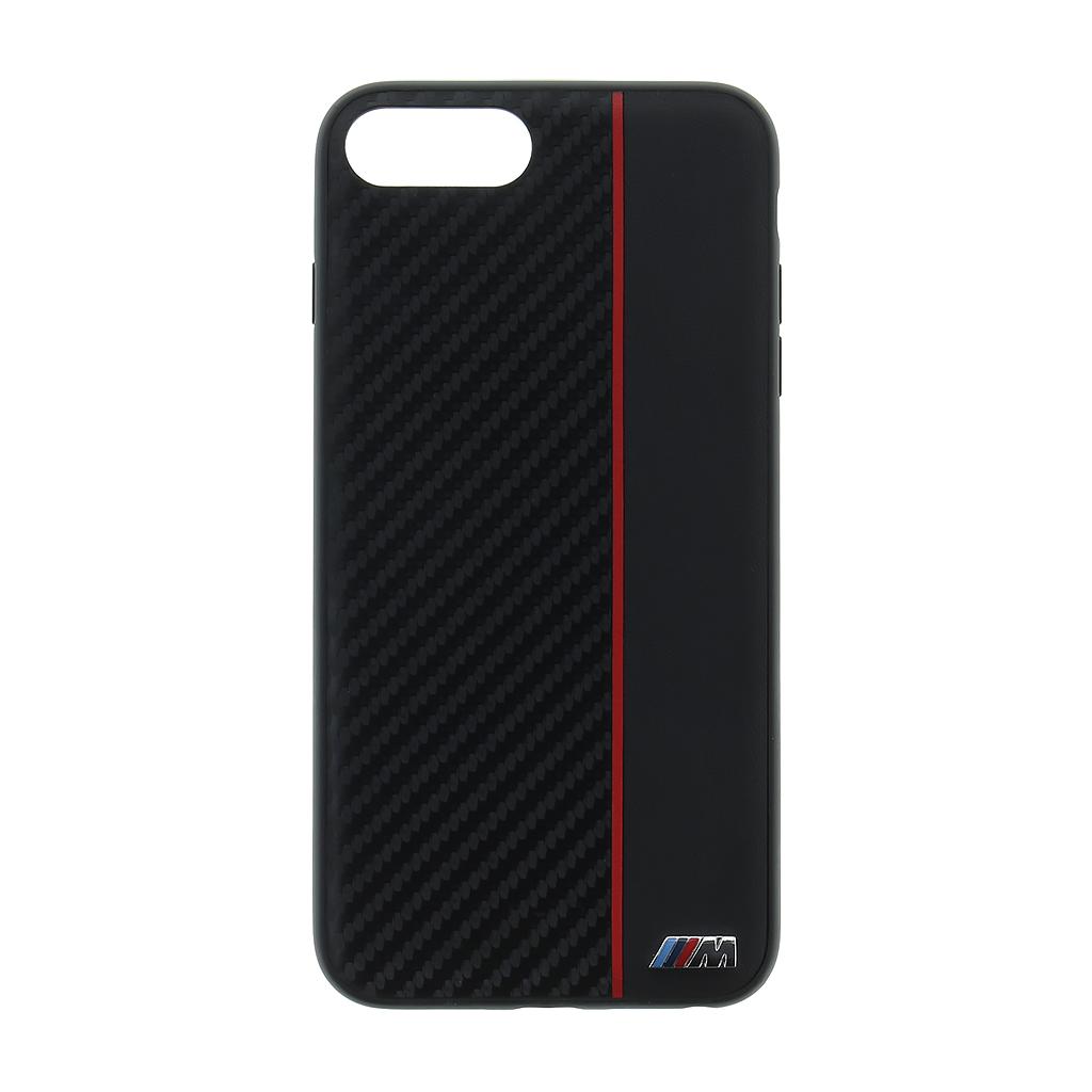 Pouzdro / kryt pro iPhone 7 PLUS / 8 PLUS - BMW, M-Collection Back Black