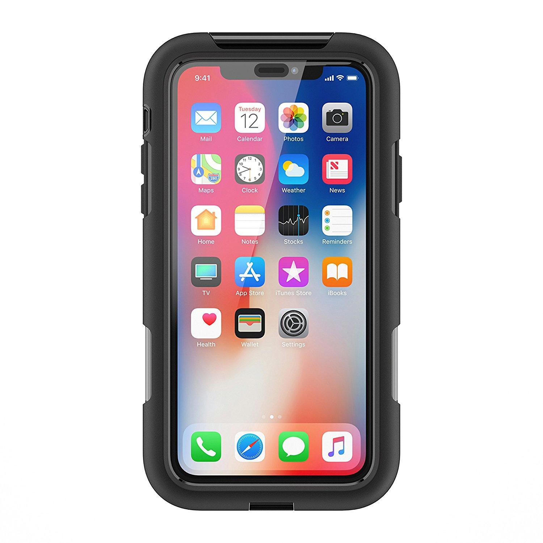 Ochranný kryt pro iPhone X - Griffin, Survivor Extreme Black/Tint