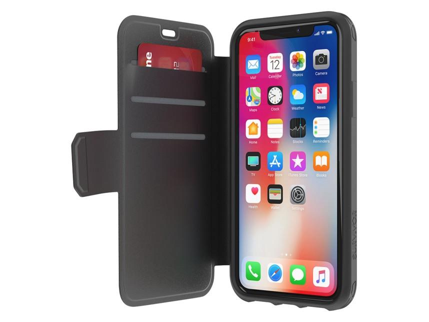 Ochranný kryt pro iPhone X - Griffin, Survivor Strong Wallet