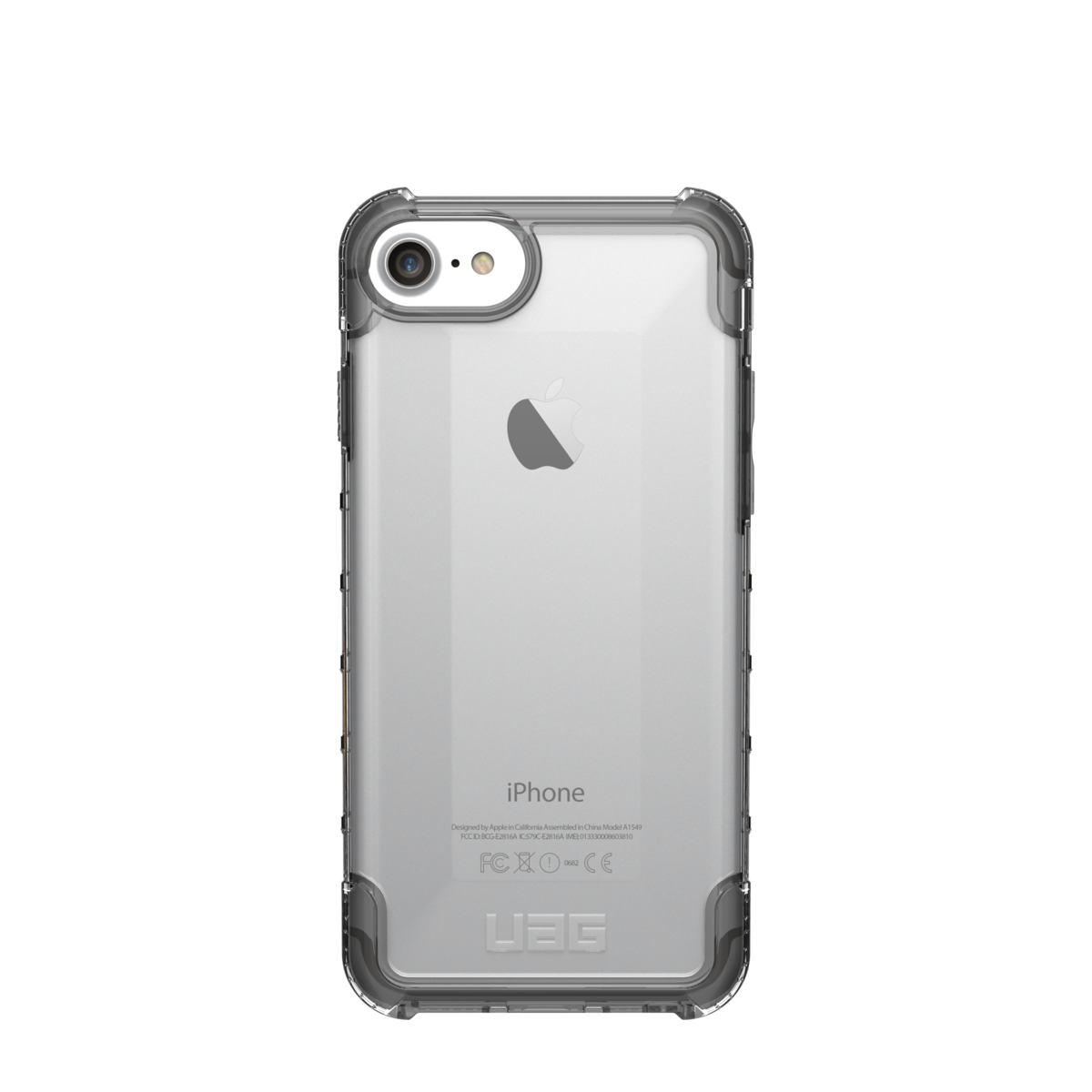 Pouzdro / kryt pro Apple iPhone 8 / 7 / 6s / 6 - UAG, Plyo Ice Clear