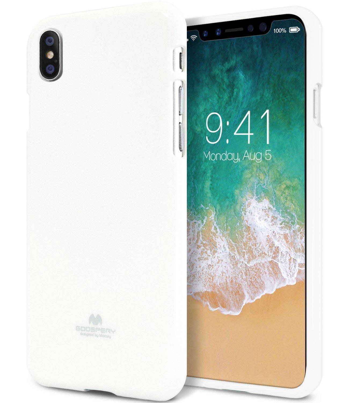 Ochranný kryt pro iPhone X - Mercury, Jelly Case White