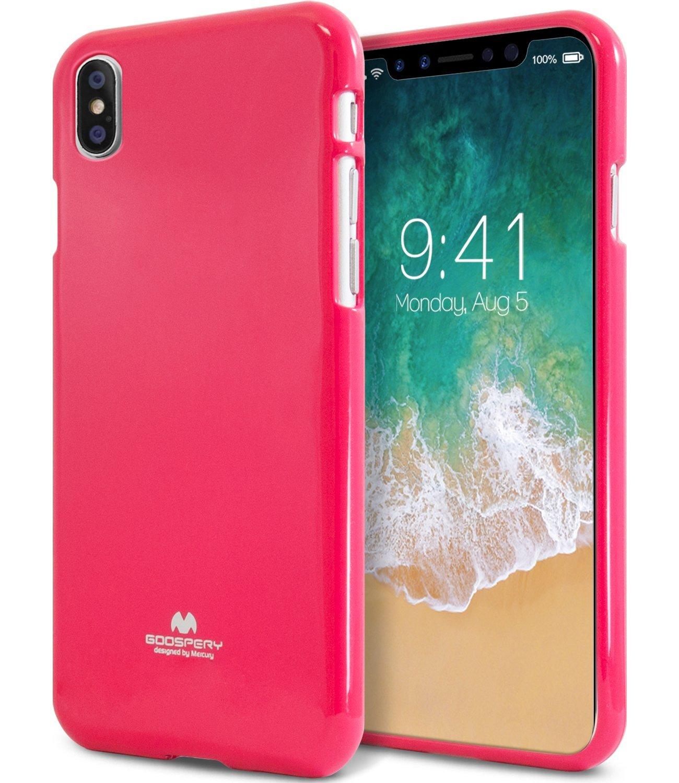 Ochranný kryt pro iPhone X - Mercury, Jelly Case HotPink