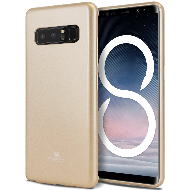 Pouzdro / kryt pro Samsung Galaxy NOTE 8 - Mercury, Jelly Gold