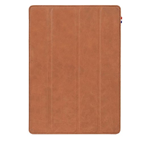 Pouzdro / kryt pro iPad Air 2 - Decoded, Leather Slim Cover Brown