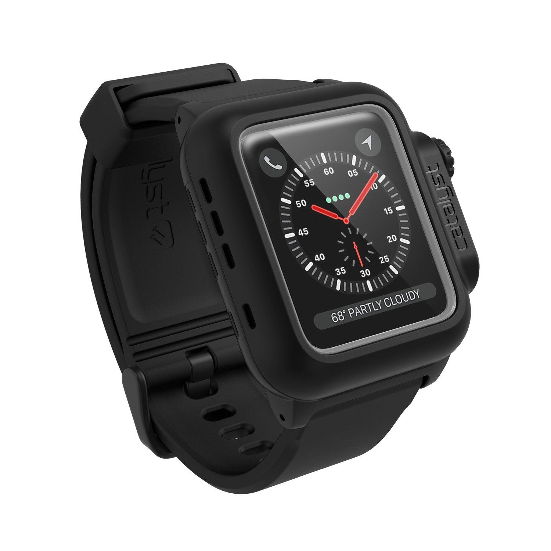 Voděodolné pouzdro / kryt pro 42mm Apple Watch SERIES 3/2 - Catalyst, Waterproof Black