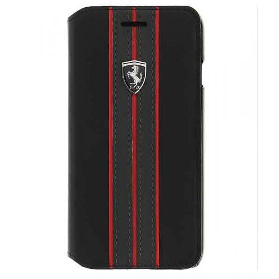 Pouzdro / kryt pro iPhone 8 PLUS / 7 PLUS / 6S PLUS / 6 PLUS - Ferrari, OffTrack Book Black