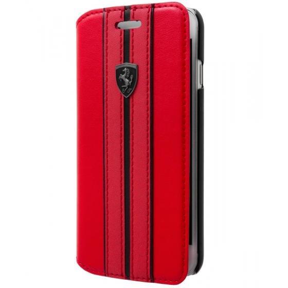Pouzdro / kryt pro iPhone 8 PLUS / 7 PLUS / 6S PLUS / 6 PLUS - Ferrari, OffTrack Book Red