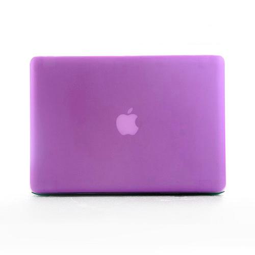 Polykarbonátové pouzdro / kryt na MacBook Pro 15 (2009-2012) - matný fialový