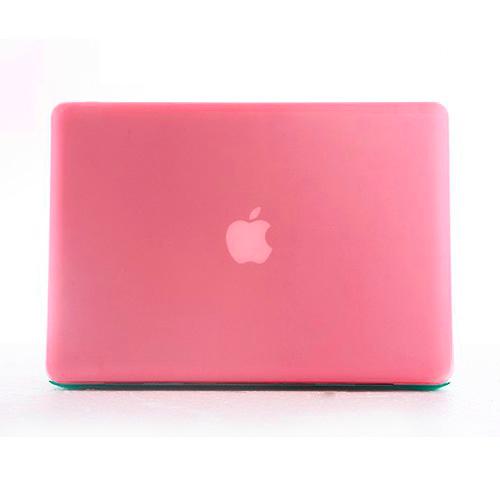 Polykarbonátové pouzdro / kryt na MacBook Pro Retina 13 (2012-2015) - matný růžový