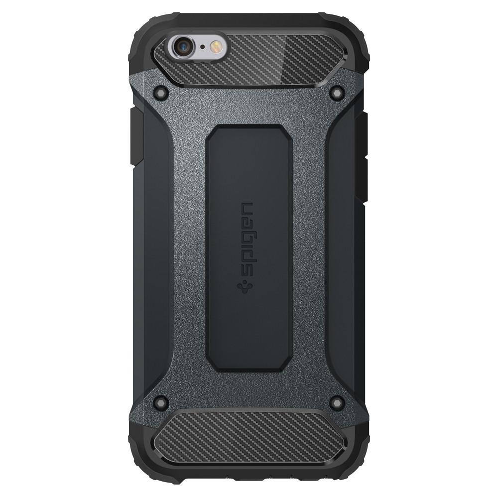 Pouzdro / kryt pro Apple iPhone 6 / 6S - Spigen, Tough Armor Tech Metal Slate
