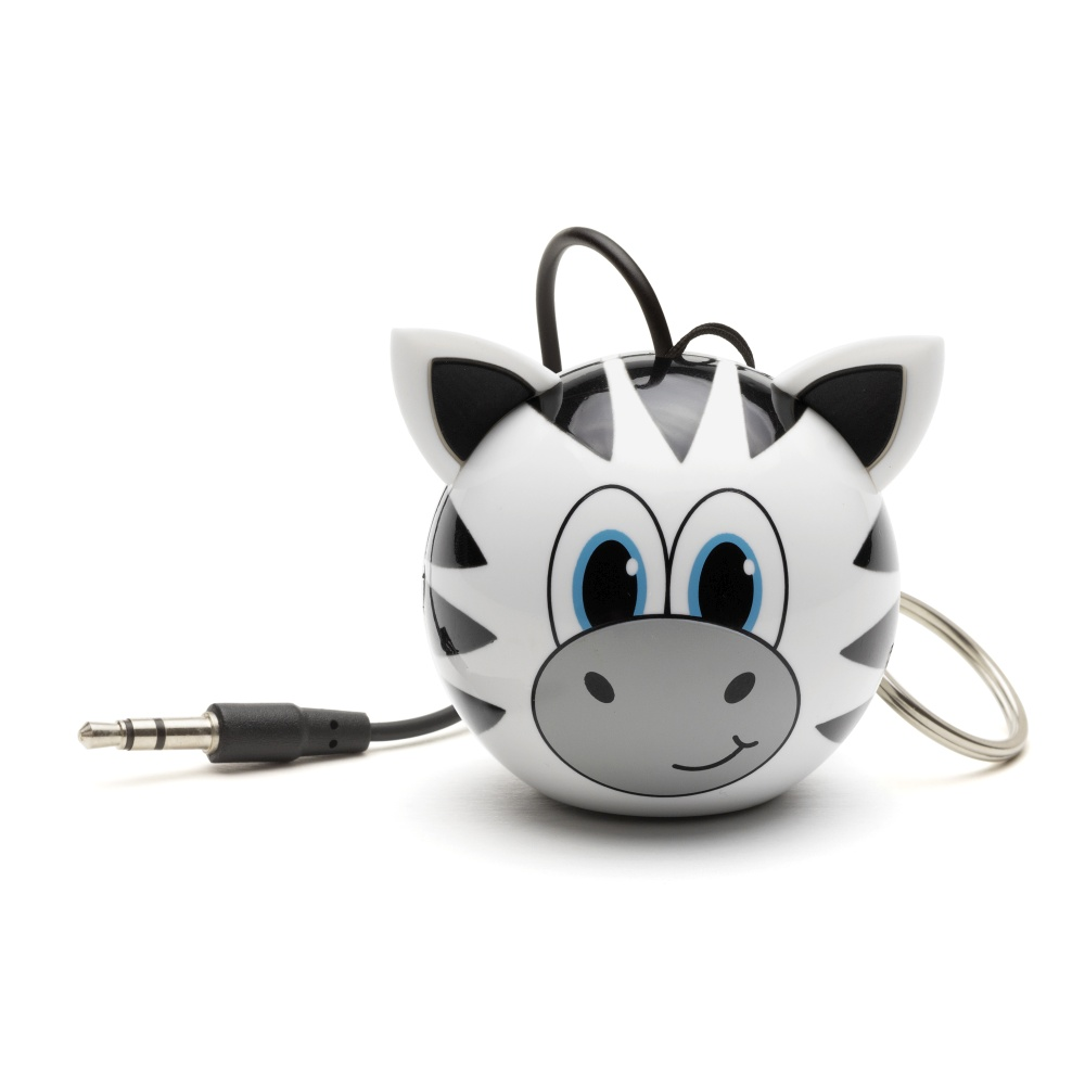 Reproduktorový systém pro iPhone a iPad - KITSOUND, Mini Buddy Zebra