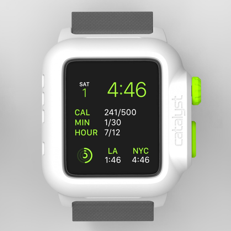 Voděodolné pouzdro / kryt pro 42mm Apple Watch SERIES 1 - Catalyst, Waterproof Green Pop