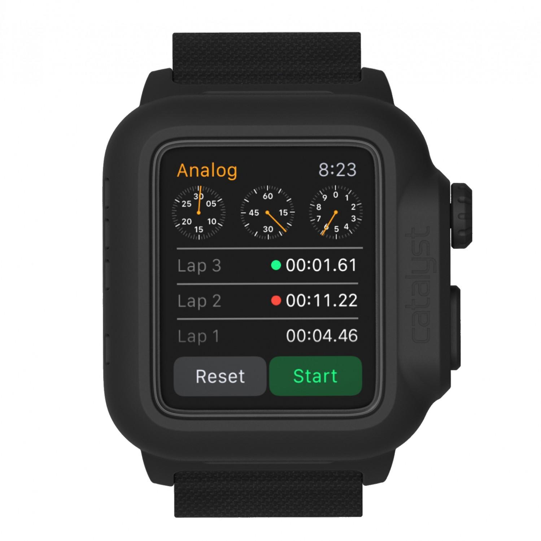 Voděodolné pouzdro / kryt pro 42mm Apple Watch SERIES 1 - Catalyst, Waterproof Stealth Black