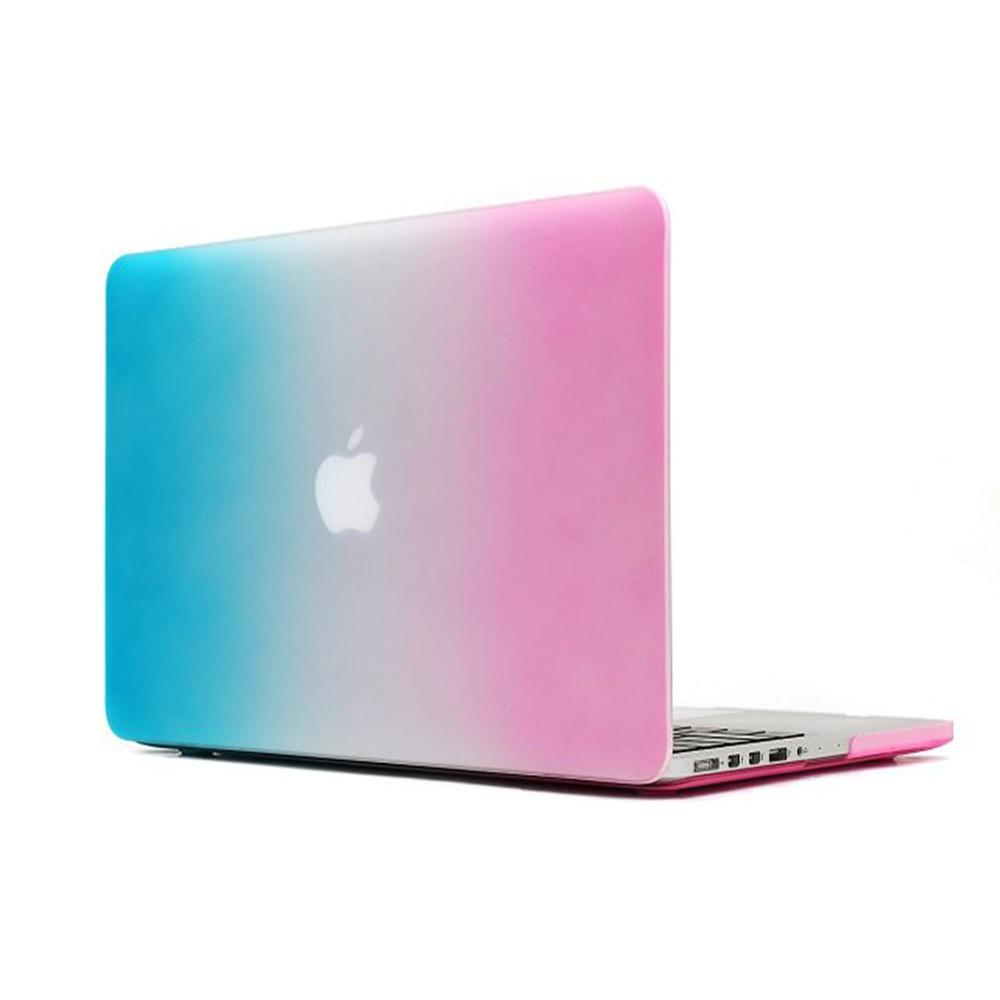 Polykarbonátové pouzdro / kryt na MacBook Air 13 - Rainbow