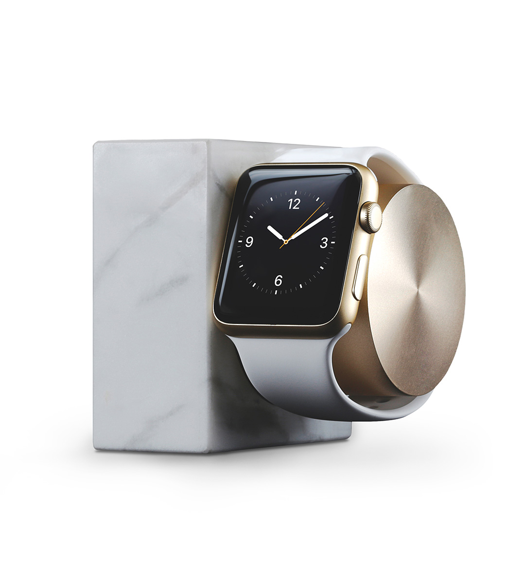 Nabíjecí stojánek pro Apple Watch 38mm / 42mm - Native Union, Dock Watch Marble White