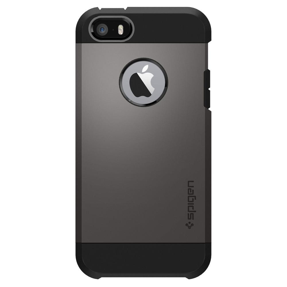 Pouzdro / kryt pro Apple iPhone 5 / 5S / SE - Spigen, Tough Armor Gunmetal