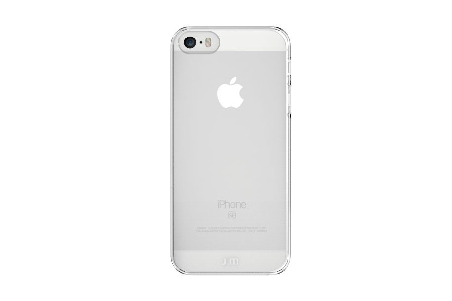 Pouzdro / kryt pro Apple iPhone 5 / 5S / SE - Just Mobile, TENC Crystal Clear
