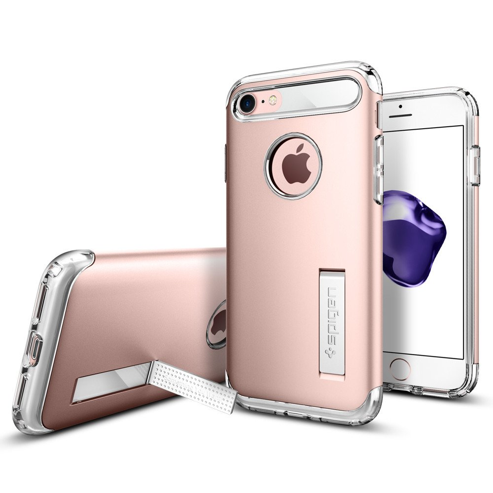 Pouzdro / kryt pro Apple iPhone 7 / 8 - Spigen, Slim Armor Rose Gold