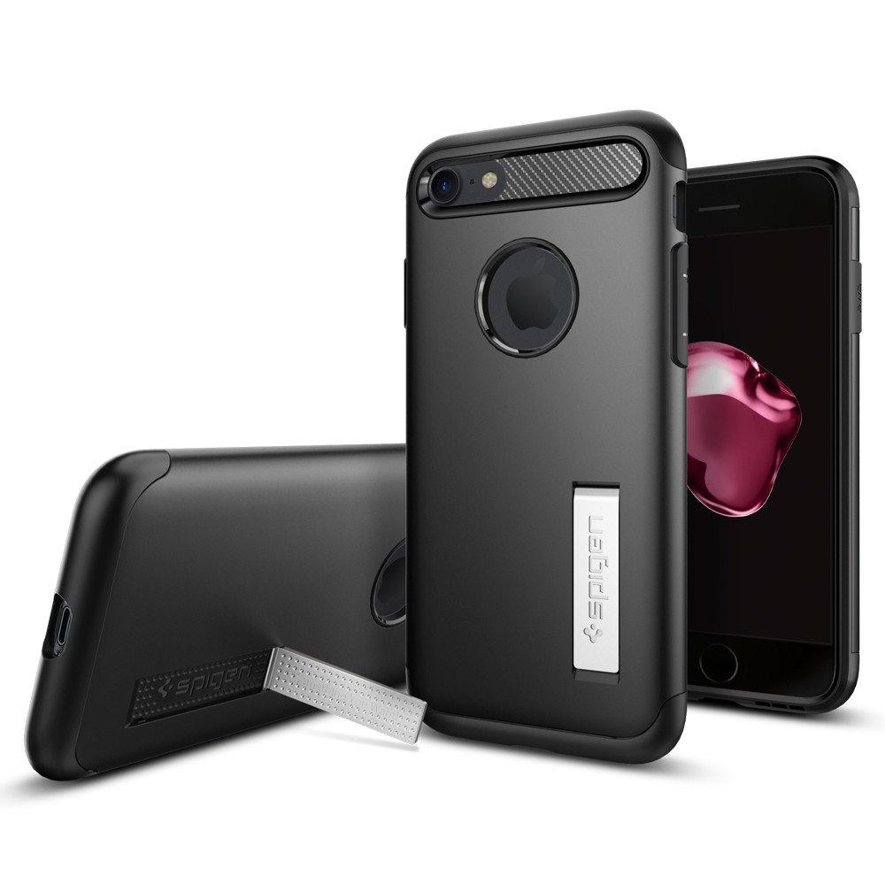 Pouzdro / kryt pro Apple iPhone 7 / 8 - Spigen, Slim Armor Black