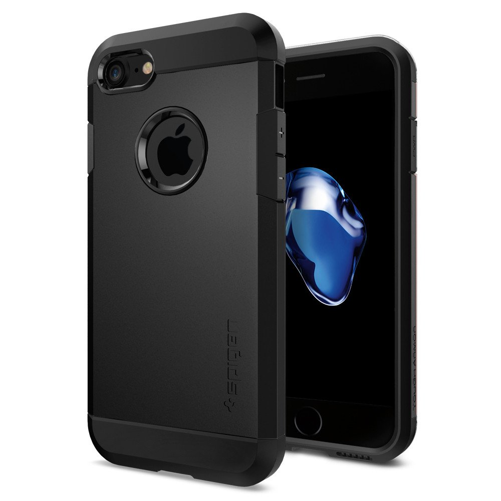 Pouzdro / kryt pro Apple iPhone 7 / 8 - Spigen, Tough Armor Black