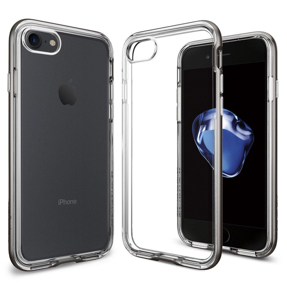 Pouzdro / kryt pro Apple iPhone 7 / 8 - Spigen, Neo Hybrid Crystal Gunmetal