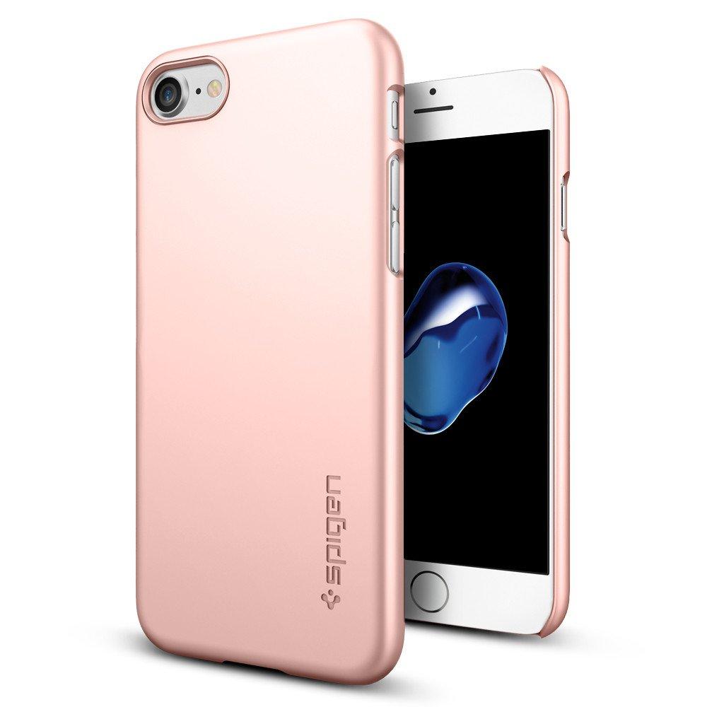 Pouzdro / kryt pro Apple iPhone 7 / 8 - Spigen, Thin Fit Rose Gold