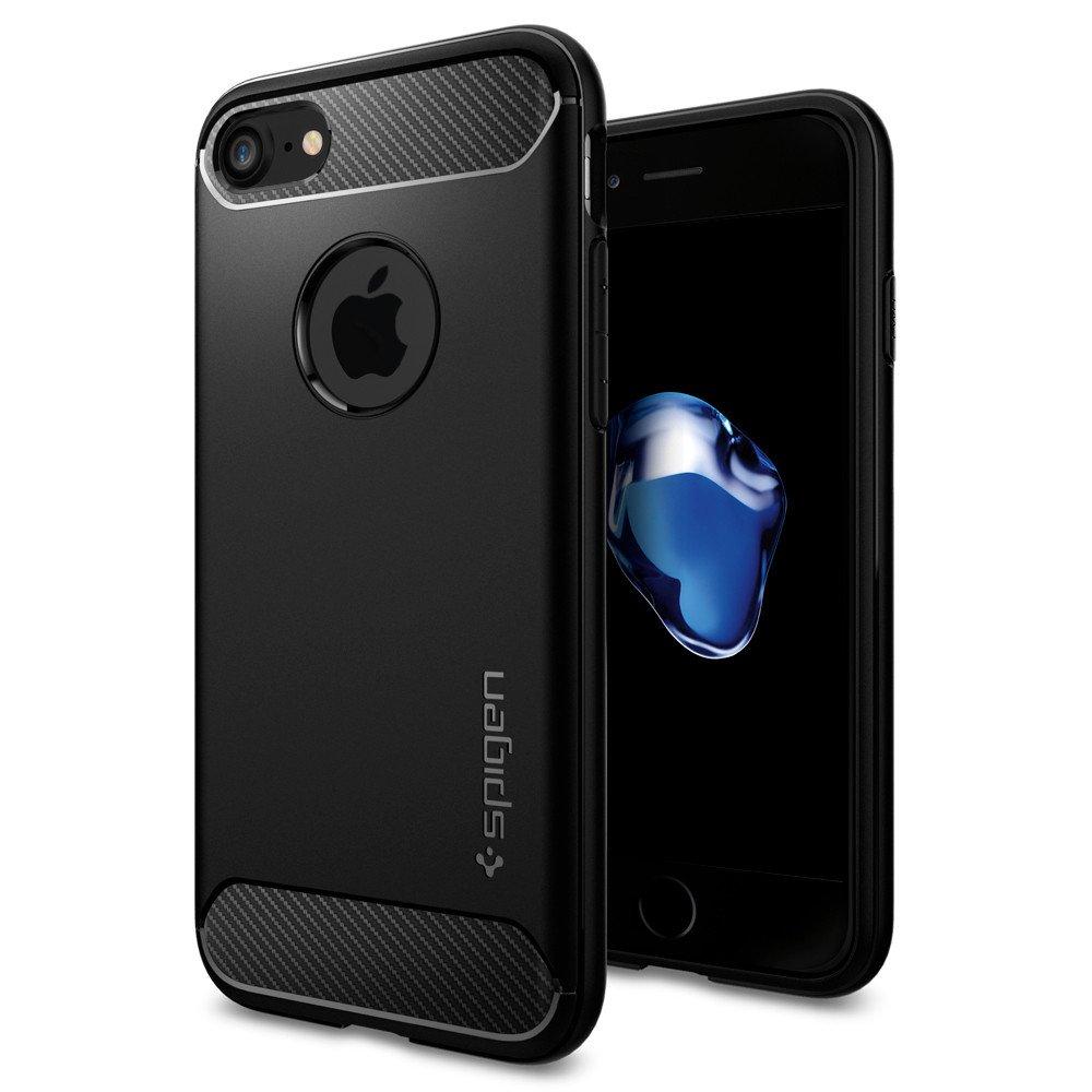 Pouzdro / kryt pro Apple iPhone 7 / 8 - Spigen, Rugged Armor Black