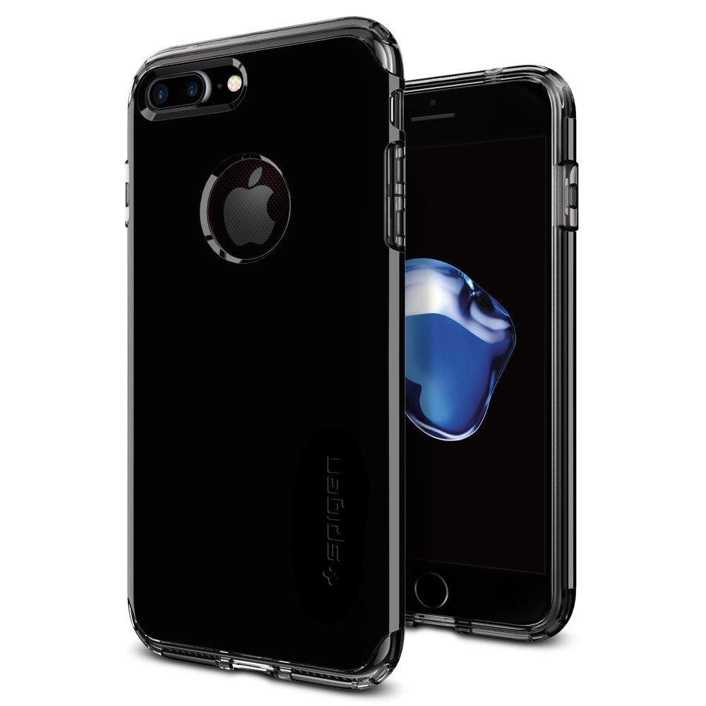 Pouzdro / kryt pro Apple iPhone 7 / 8 - Spigen, Hybrid Armor Jet Black