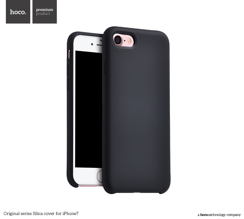 Pouzdro / kryt pro Apple iPhone 7 / 8 - Hoco, Silica Black
