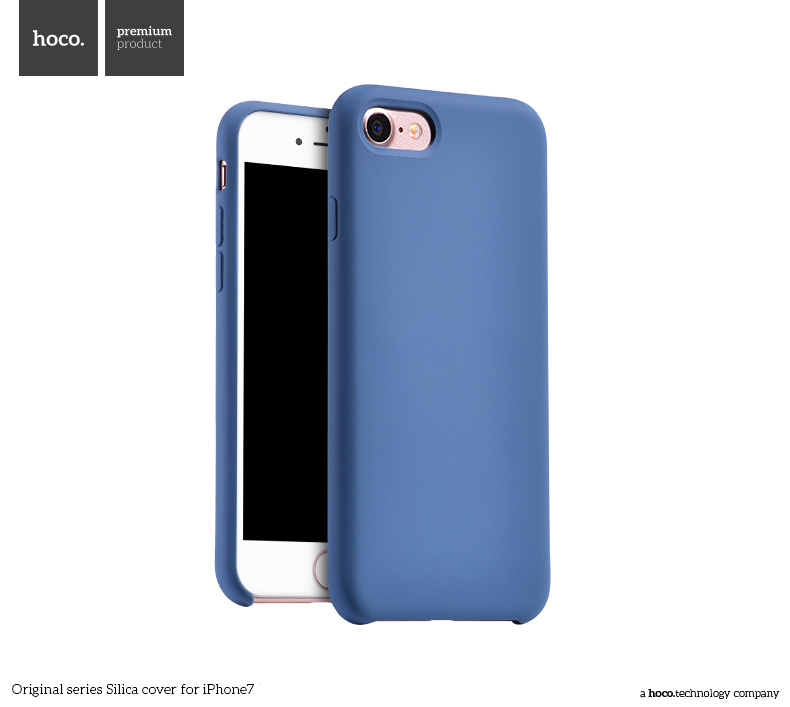 Pouzdro / kryt pro Apple iPhone 7 / 8 - Hoco, Silica Blue