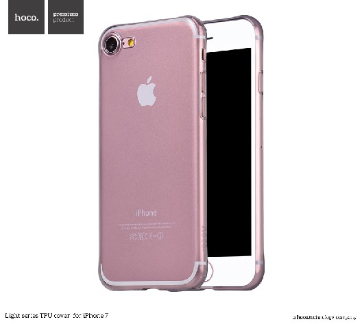 Pouzdro / kryt pro Apple iPhone 7 / 8 - Hoco, Light Black