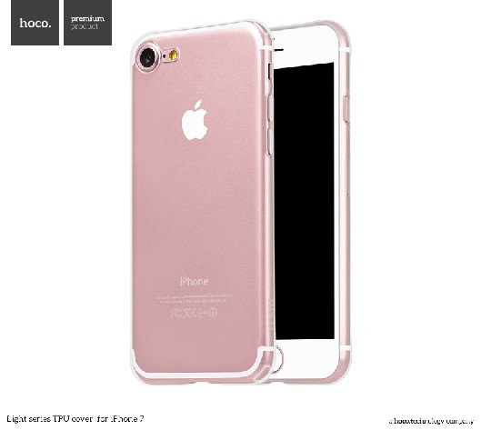 Pouzdro / kryt pro Apple iPhone 7 / 8 - Hoco, Light Transparent