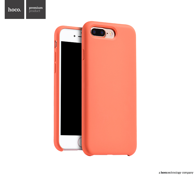 Pouzdro / kryt pro Apple iPhone 7 PLUS / 8 PLUS - Hoco, Silica Orange