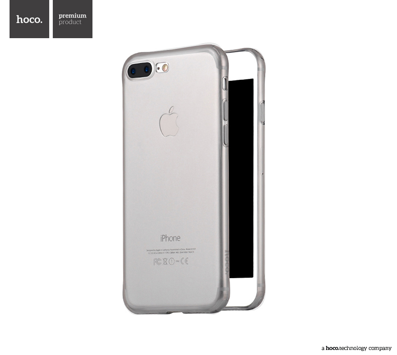 Pouzdro / kryt pro Apple iPhone 7 PLUS / 8 PLUS - Hoco, Light Black
