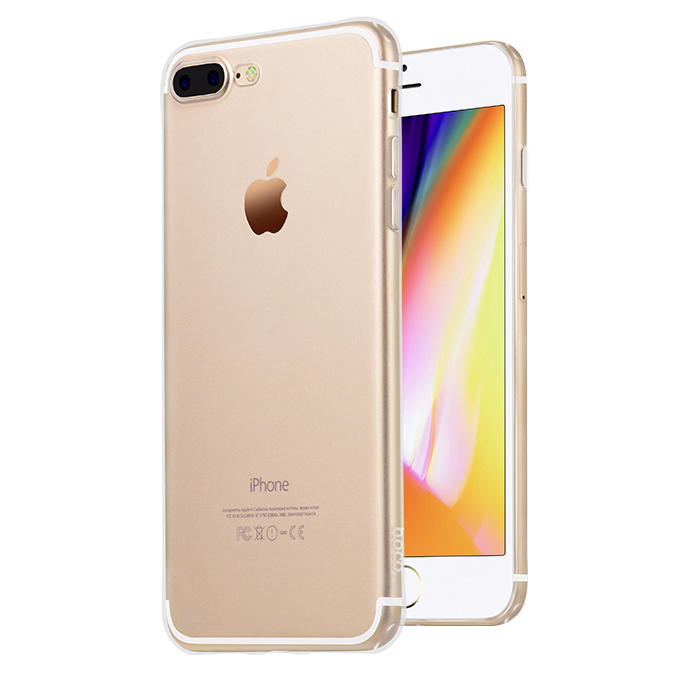Pouzdro / kryt pro Apple iPhone 7 PLUS / 8 PLUS - Hoco, Light Transparent