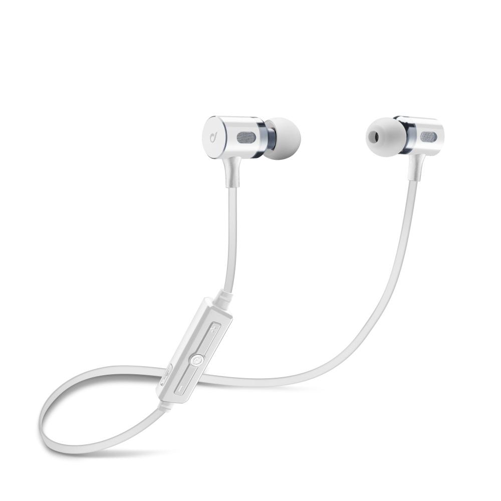 Bezdrátová sluchátka pro iPhone a iPad - Cellularline, MOSQUITO White