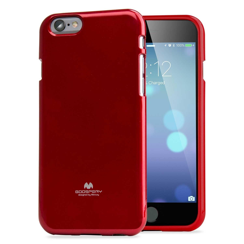 Pouzdro / kryt pro Apple iPhone 6 / 6S - Mercury, Jelly Case Red