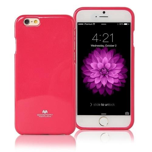 Pouzdro / kryt pro Apple iPhone 6 / 6S - Mercury, Jelly Case Hotpink