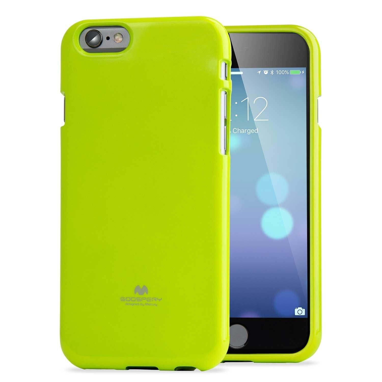 Pouzdro / kryt pro Apple iPhone 6 / 6S - Mercury, Jelly Case Lime