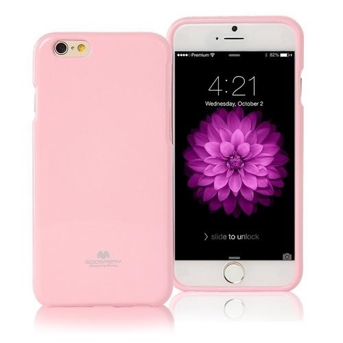 Pouzdro / kryt pro Apple iPhone 7 / 8 - Mercury, Jelly Case Pink