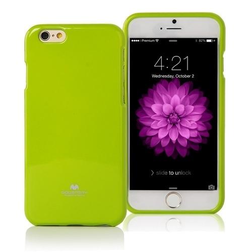 Pouzdro / kryt pro Apple iPhone 7 / 8 - Mercury, Jelly Case Lime