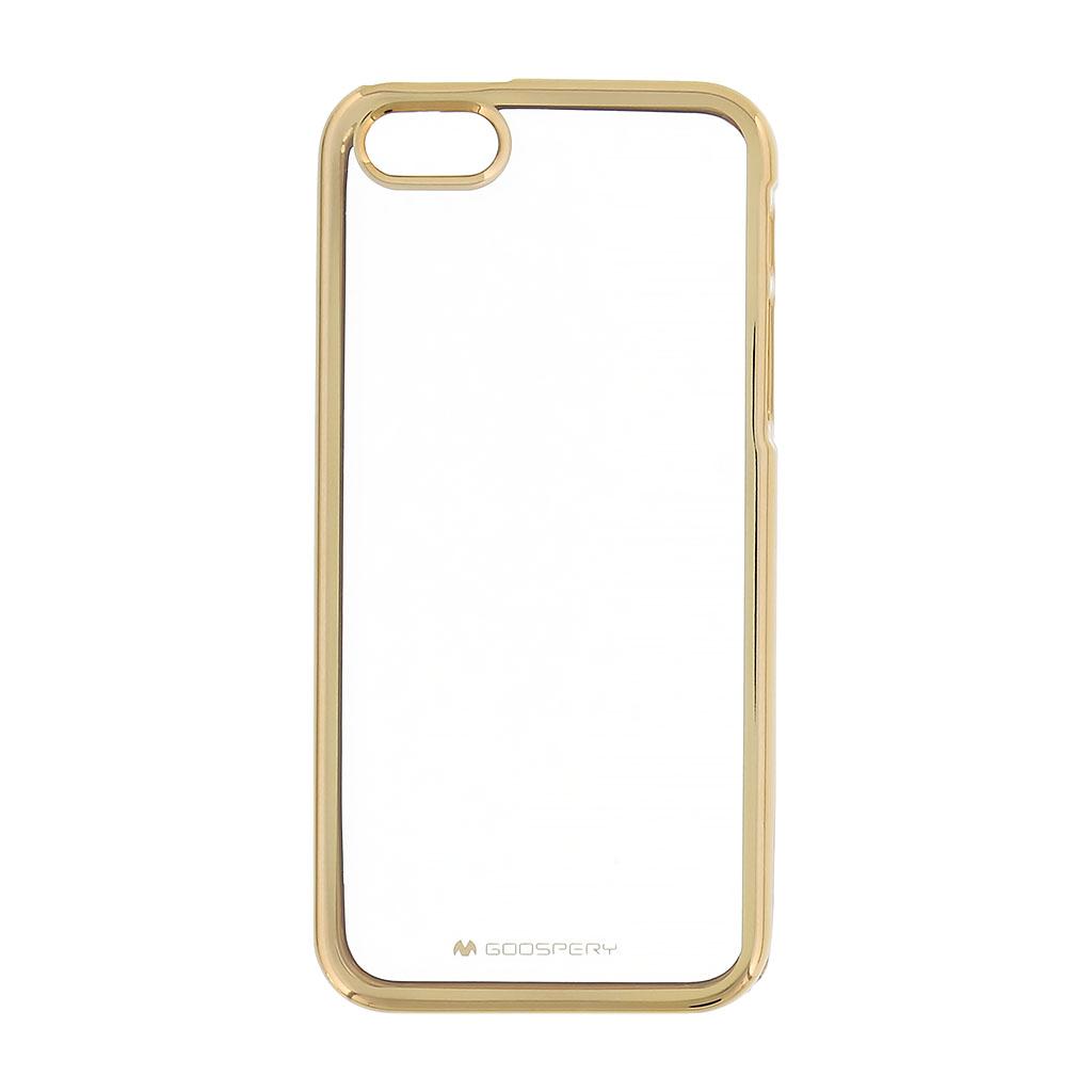 Pouzdro / kryt pro Apple iPhone 5 / 5S / SE - Mercury, Ring2 Gold
