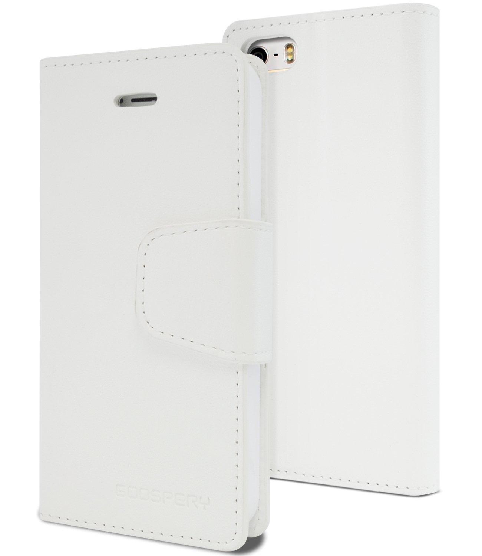Pouzdro / kryt pro Apple iPhone 5 / 5S / SE - Mercury, Sonata Diary White
