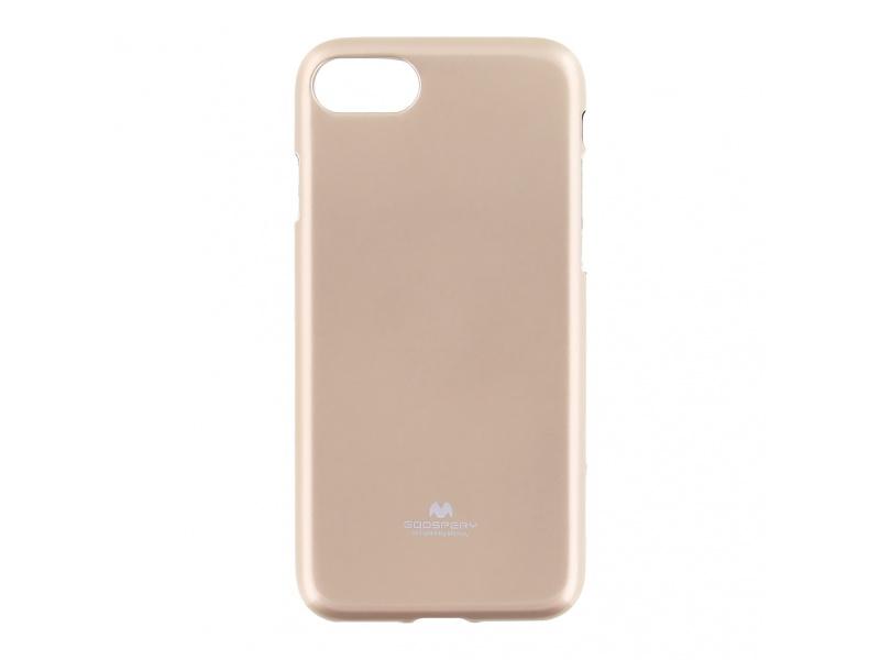 Pouzdro / kryt pro Apple iPhone 6 / 6S - Mercury, Jelly Case Gold