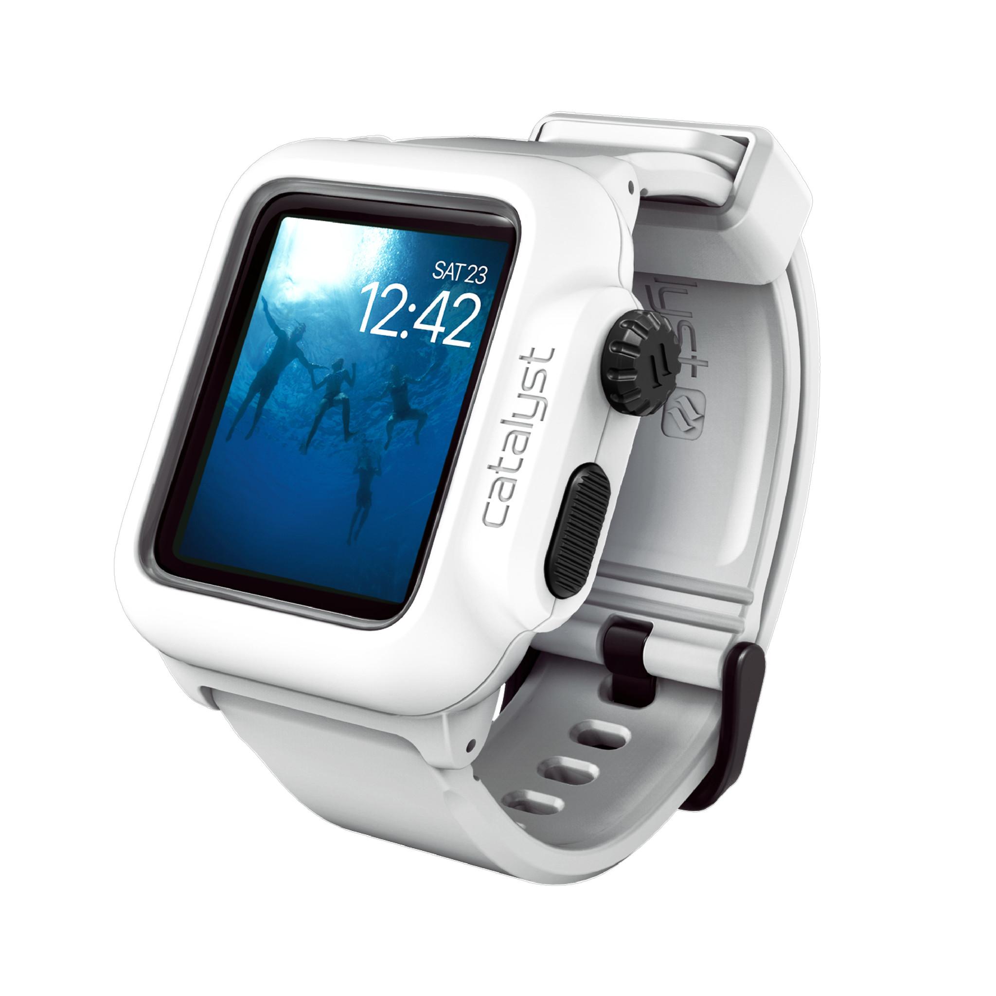 Voděodolné pouzdro / kryt pro 42mm Apple Watch SERIES 2 - Catalyst, Waterproof Alpine White