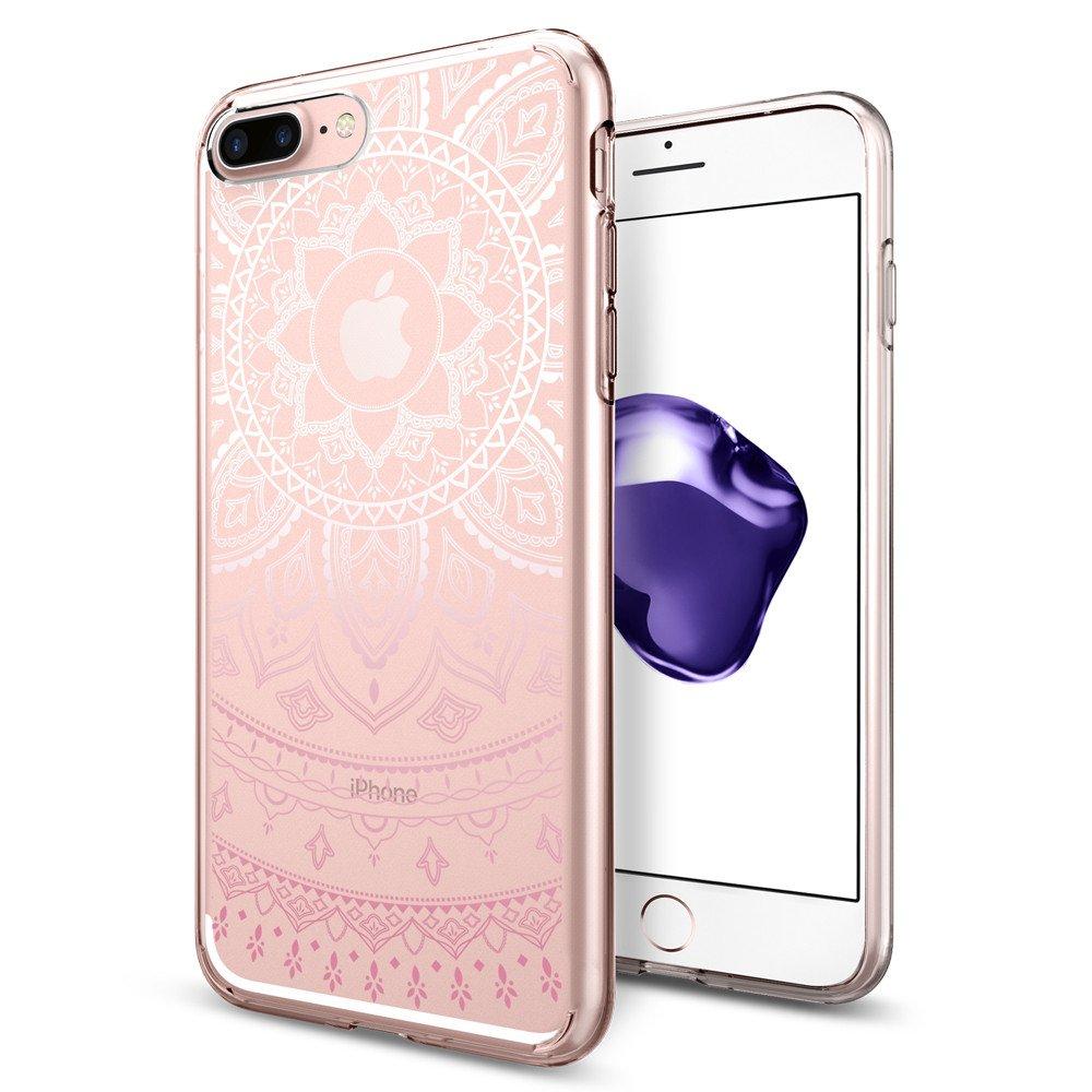 Pouzdro / kryt pro Apple iPhone 7 PLUS / 8 PLUS - Spigen, Liquid Crystal Shine Pink