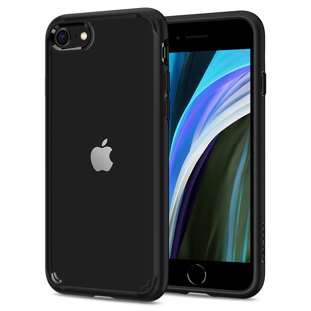 Pouzdro / kryt pro Apple iPhone 7 / 8 - Spigen, Ultra Hybrid 2 Black