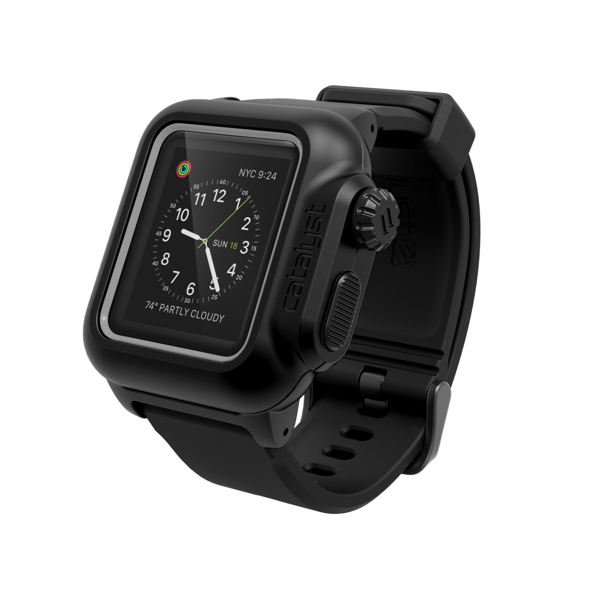 Voděodolné pouzdro / kryt pro 38mm Apple Watch SERIES 2 - Catalyst, Waterproof Black