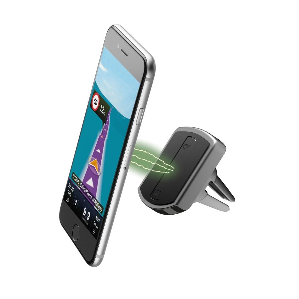 Magnetický držák do ventilace pro iPhone - Cellularline, MAG4 HANDY FORCE DRIVE