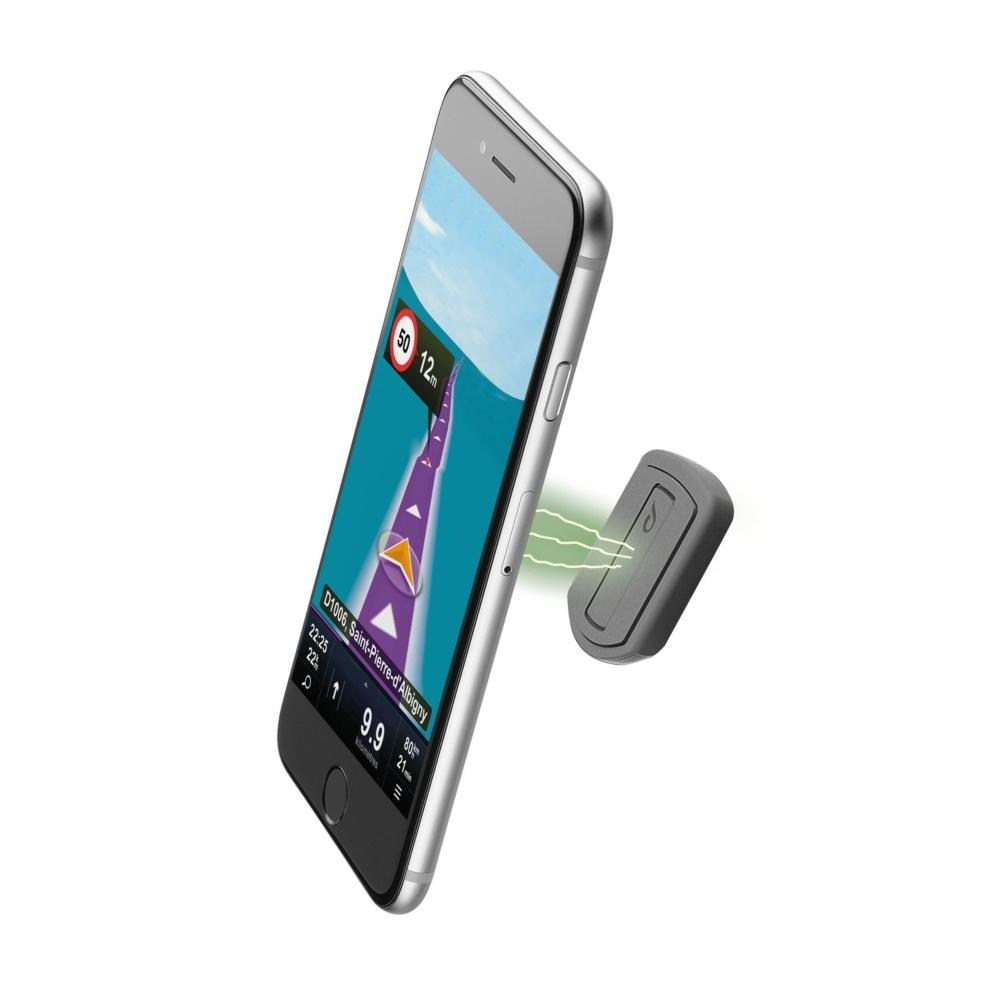 Magnetický nalepovací držák pro iPhone - Cellularline, MAG4 HANDY FORCE